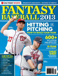 USAToday Fantasy Baseball 2013 - Stephen Strasburg Cover