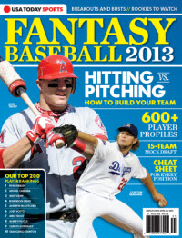 USAToday Fantasy Baseball 2013 - Mike Trout Cover