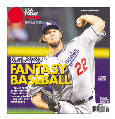 Fantasy Baseball 2014 Special Edition - Clayton Kershaw Cover