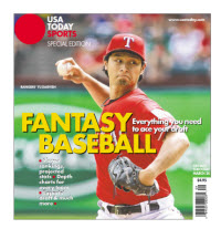 Fantasy Baseball 2014 Special Edition - Yu Darvish Cover
