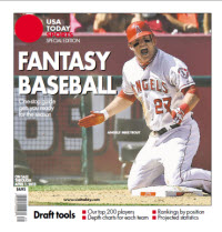 Fantasy Baseball 2013 Special Edition - Mike Trout Cover