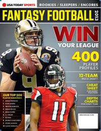 Fantasy Football 2013 - Drew Brees/Julio Jones Cover