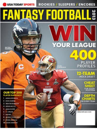 Fantasy Football 2013 - Peyton Manning/Colin Kaepernick Cover