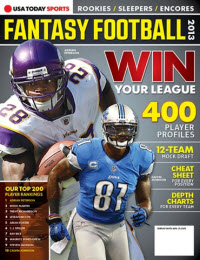 Fantasy Football 2013 - Calvin Johnson/Adrian Peterson Cover