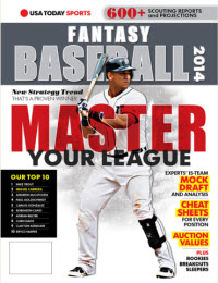 USA TODAY Sports Fantasy Baseball 2014 - Miguel Cabrera Cover