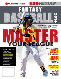 USA TODAY Sports Fantasy Baseball 2014 - Andrew McCutchen Cover