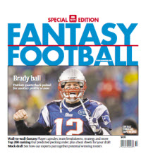 Fantasy Football Guide - Regional - Tom Brady Cover