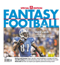 Fantasy Football Guide - Regional - Calvin Johnson Cover