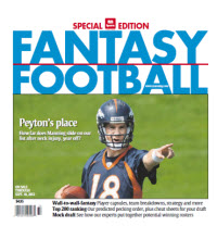 Fantasy Football Guide - National Edition - Peyton Manning Cover