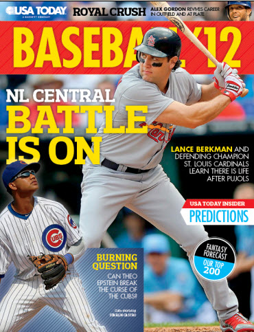MLB Preview - Cardinals & Cubs Cover