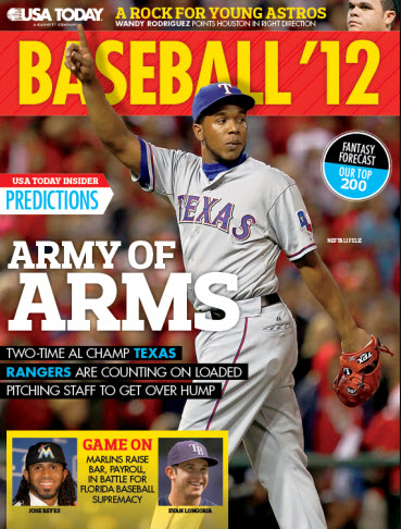 MLB Preview - Rangers Cover