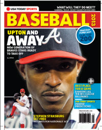 USAToday Sports Baseball 2013 Preview - Braves Cover