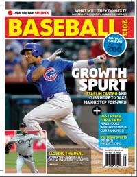 USAToday Sports Baseball 2013 Preview - Cubs/White Sox Cover