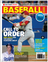 USAToday Sports Baseball 2013 Preview - Dodgers/Angels Cover