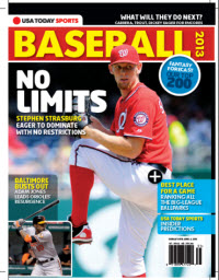 USAToday Sports Baseball 2013 Preview - Nationals/Orioles Cover