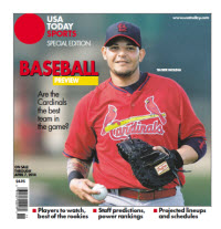 Baseball Preview 2014 Special Edition - Cardinals Cover