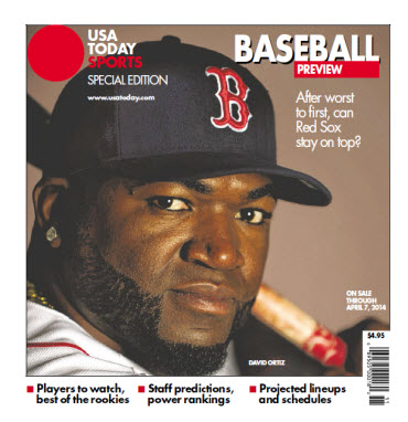 Baseball Preview 2014 Special Edition - Red Sox Cover