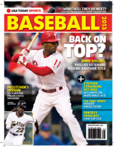 USAToday Sports Baseball 2013 Preview - Phillies/Pirates Cover