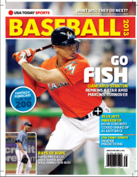 USAToday Sports Baseball 2013 Preview - Marlins/Rays Cover