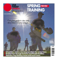 USAToday Sports 2014 Spring Training Special Edition - Cactus League Cover
