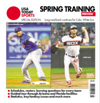 USAToday Sports 2014 Spring Training Special Edition - Cubs and White Sox Cover
