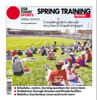 USAToday Sports 2014 Spring Training Special Edition - Grapefruit League Cover