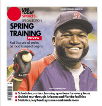 USAToday Sports 2014 Spring Training Special Edition - Red Sox Cover