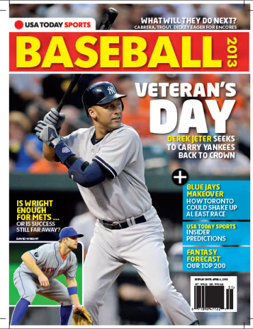 USAToday Sports Baseball 2013 Preview - Yankees/Mets Cover
