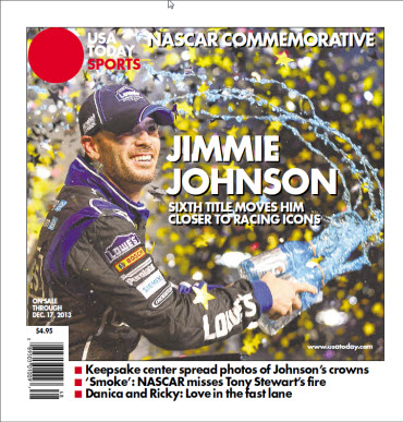USA TODAY 2013 Special Edition - NASCAR Commemorative