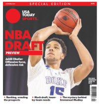 NBA Draft Preview 2015 Special Edition - Duke Cover