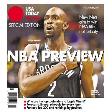 NBA Preview 2013 - Special Edition - Brooklyn Nets Cover