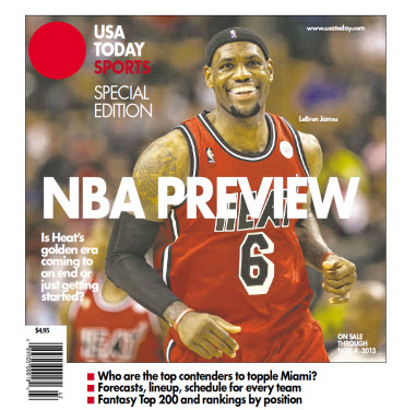 NBA Preview 2013 - Special Edition - Miami Heat Cover