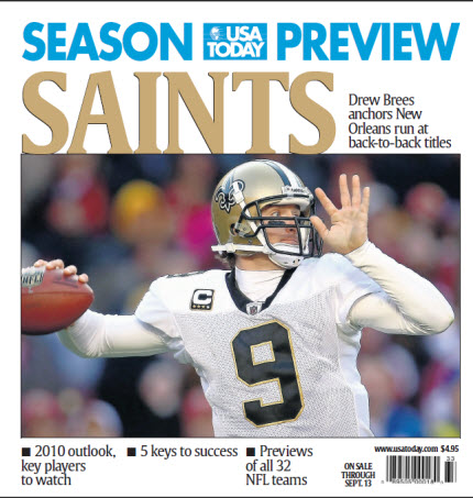 NFL Season Preview - Saints