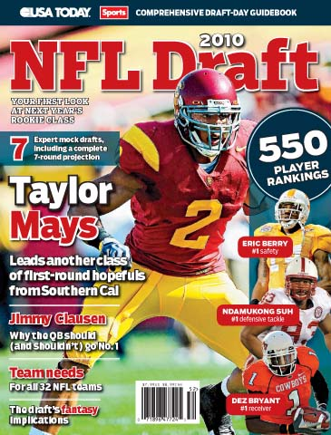 2010 NFL Draft (Taylor Mays cover)