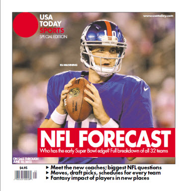 NFL Forecast 2013 - Giants