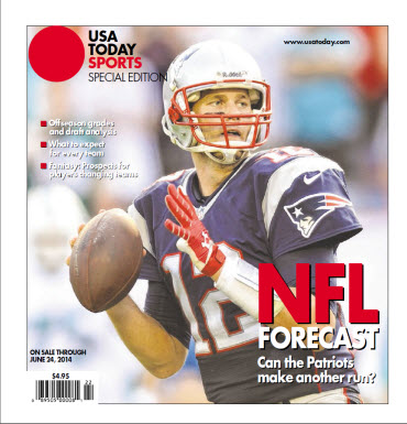 NFL Forecast  2014 - New England Patriots