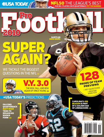 Pro Football 2010 (Brees cover)