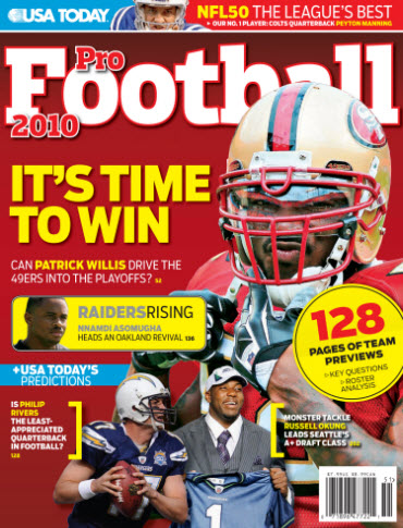 Pro Football 2010 (Willis cover)