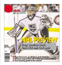 NHL Preview - 2013 Special Edition - Kings Cover