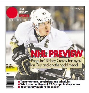 NHL Preview - 2013 Special Edition - Penguins Cover