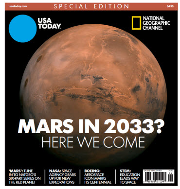 National Geographic Channel - Mars in 2033? Here We Come.