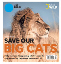 USA TODAY - Nat Geo Wild - Save Our Big Cats