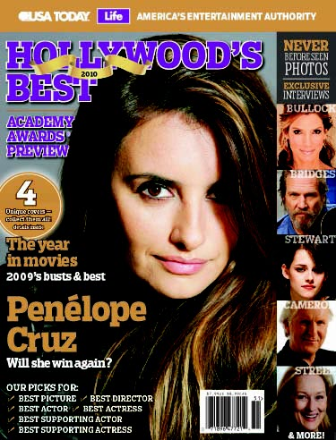 Hollywood's Best: Academy Awards Preview (Penelope Cruz cover)