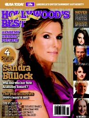 Hollywood's Best: Academy Awards Preview (Sandra Bullock cover)