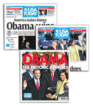 Electing President Obama: The USA TODAY collection