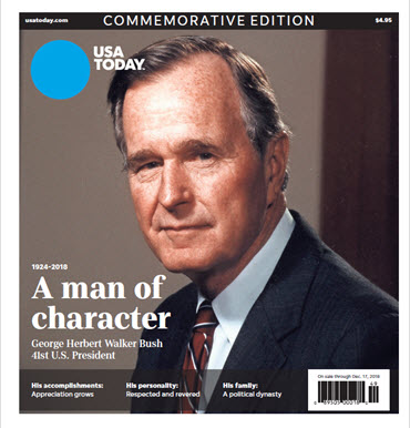 USA TODAY - President George H.W. Bush Commemorative Edition