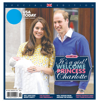 Welcome Princess Charlotte