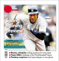 USAToday Sports Spring Training 2013 - Derek Jeter Cover