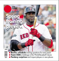 USAToday Sports Spring Training 2013 - David Ortiz Cover