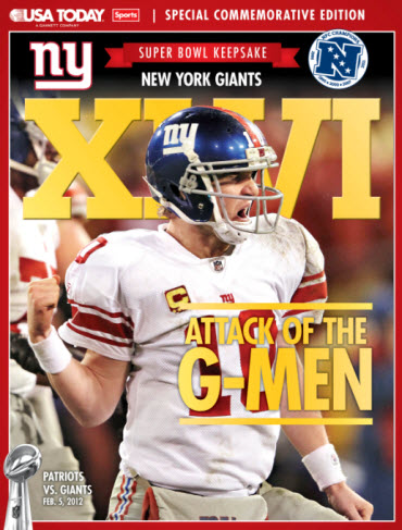 Super Bowl Preview - Giants Cover